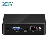 XCY Mini PC Intel Core i7 7500U i5 7200U i3 7100U Windows 10 8GB RAM 480GB SSD 4K UHD HDMI VGA 300M WiFi Gigabit Ethernet