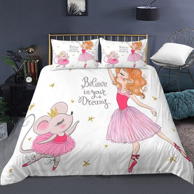 Ballerina Mouse Bedding Set 20