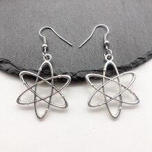 Biochemistry Molecular Gene DNA Scientist Earrings Teachers Day Gift Creative Pendant Earring biochemistry