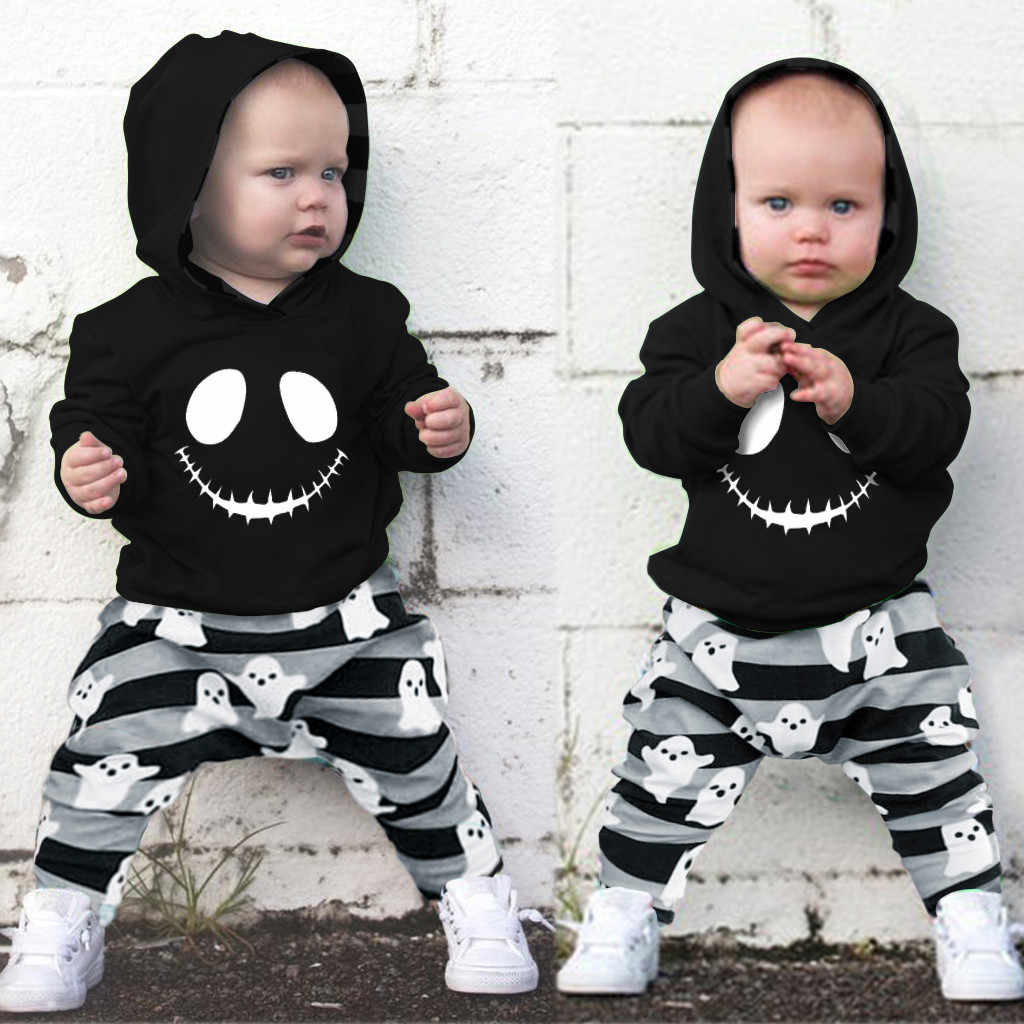 Toddler Kids Baby Boy Sweatshirt Top Pants Sportwear Outfits Clothes Tracksuit
