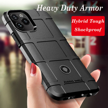 Luxury Shockproof Armor Case For iPhone 11 Pro MAX XS XR Hybrid Tough Rugged Silicone Cover 8 7 Plus Anti-Knock