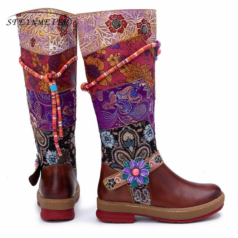 Vrouwen Winter Laarzen Lederen Enkellaarsjes Motorlaarzen Lederen Dikke Hak Korte Dikke Hak Schoenen Laarzen 2020 Lente Rode