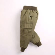 Kids Winter Pants Trousers Toddler-Bottom Loose Sport-Style Baby-Boy Boys Solid for 1-8