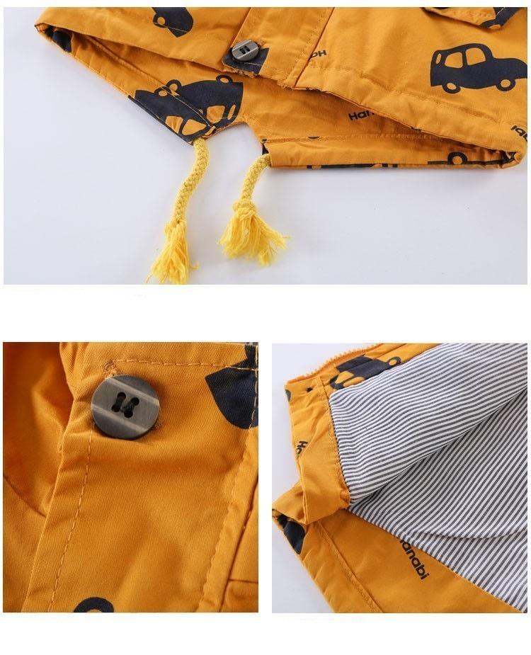 Benemaker Children Winter Outdoor Fleece Jackets For Boys Clothing Hooded Warm Outerwear Windbreaker Baby Kids Thin Coats YJ023 37