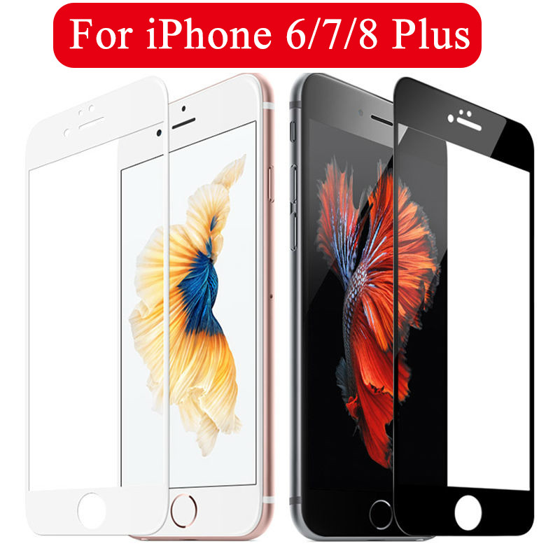 Screen Protector For Iphone 7 6 8 Plus 8plus Glass  Protective Safety Glass For Iphone 8plus 6plus 6Splus 7plus Tempered Glass