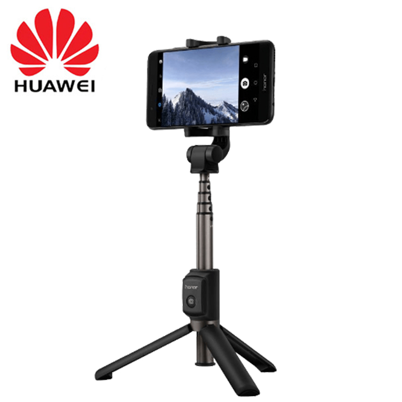 Huawei Honor AF15 Bluetooth Selfie Stick Tripod Original Portable Wireless Control Monopod Handheld for iOS/Huawei/Xiaomi Phone image