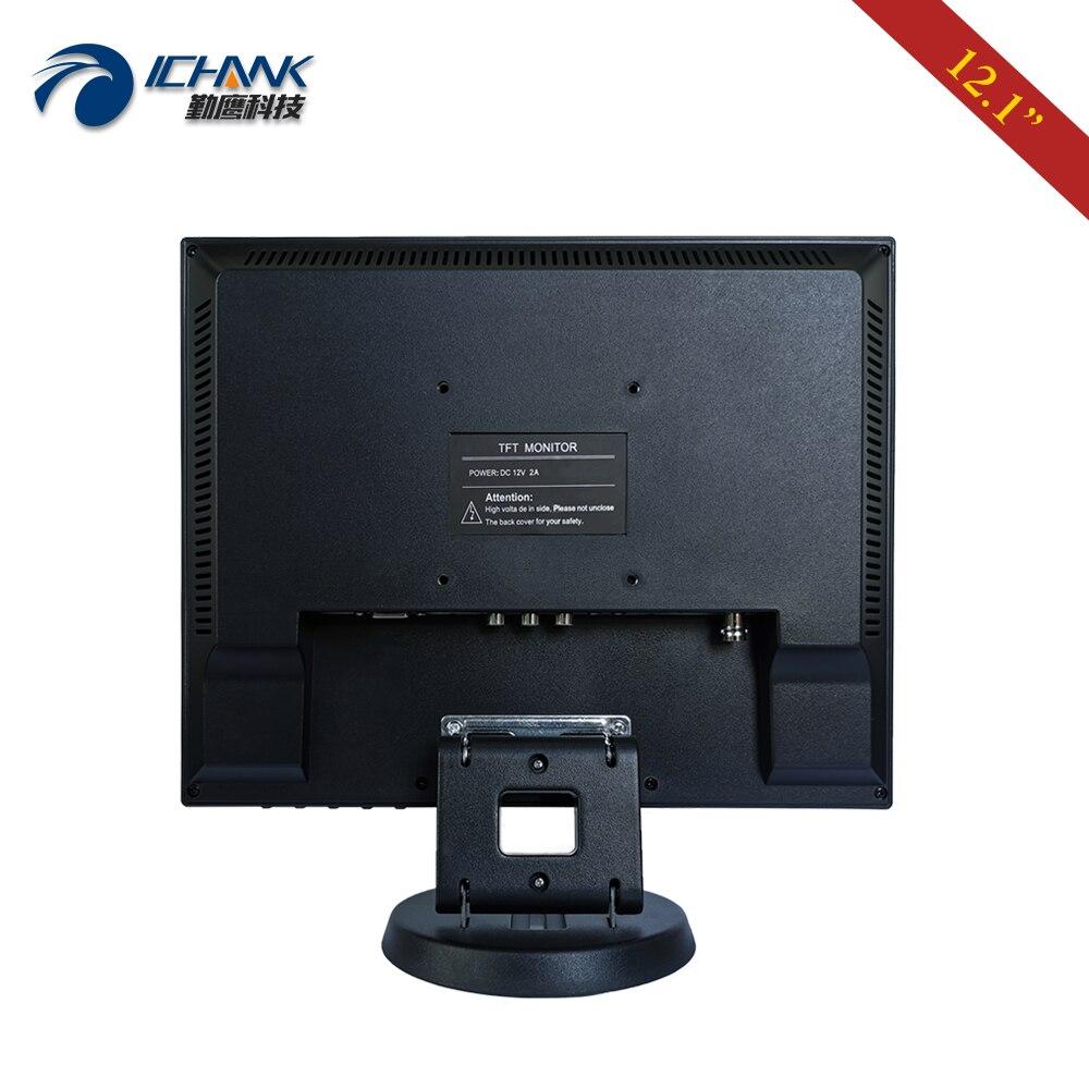 ZB120JC V591/12 pulgadas 800x600 USB HDMI VGA Industrial Médico POS pedido máquina pantalla LCD táctil resistiva Monitor pantalla - 4