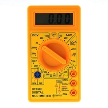 Digital-Multimeter Ohm-Tester with Buzzer Square Wave Output-Voltage Ampere Probe DC
