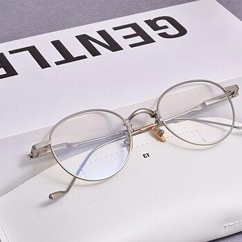 2020 Korean brand Anti blue lens GENTLE Eyeglasses frames Tom21 Women Men Eyewear Frames For Reading Myopia Prescription lens