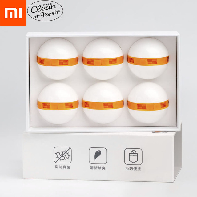 Xiaomi Youpin Clean Fresh Shoes Deodorant Dry Deodorizer Air Purifying Switch Ball Shoes Eliminator For Home Shoes
