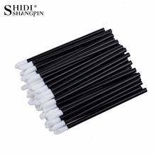 50-100 PCS spazzola per labbra usa e getta accessori per donna bacchette lucide all'ingrosso applicatore perfetto miglior strumento per il trucco abbastanza moda calda