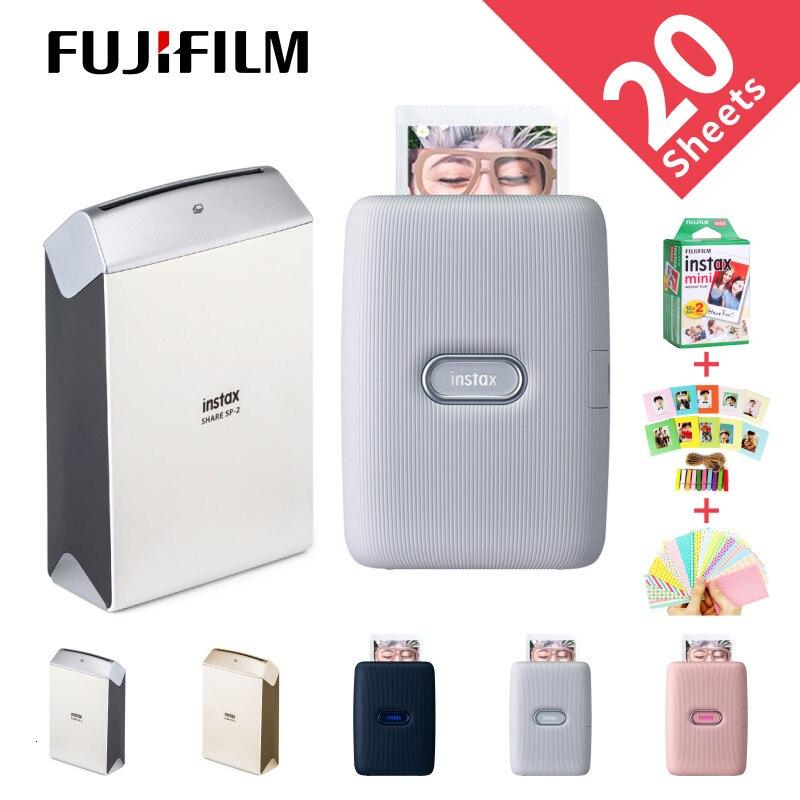 Fujifilm Instax partage imprimante Smartphone SP-2 mise à niveau vers l'impression Mini lien à partir du contrôle de mouvement vidéo ensemble en Mode amusant