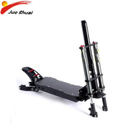 Double Aluminum Alloy Electric Scooter Frame for 11inch Escooter Motor Wheel Scooter Accessories Parts Shock Absorber Front Fork