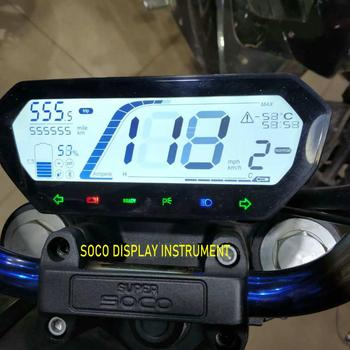 SOCO TS TC CU skuter oryginalny wyświetlacz instrument dashboard stoper komputery motocykl elektryczny prędkościomierz speedview tanie i dobre opinie phoebevpartstols Inne