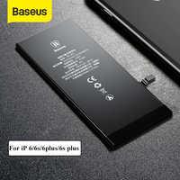 Bateria do telefone de baseus para o iphone 6s 6s mais baterias de lítio de substituição de alta capacidade 3500 mah com ferramentas gratuitas