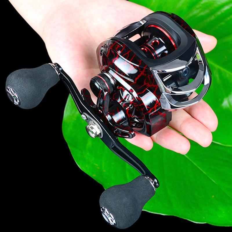 7.2:1 alta velocidade relação engrenagem molinete carretel fundição carretel pesca