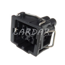 1 conjunto 4 pinos 444524-1 conector automotivo à prova dwaterproof água interruptor de pressão de ar condicionado tomada sensor de temperatura para vw