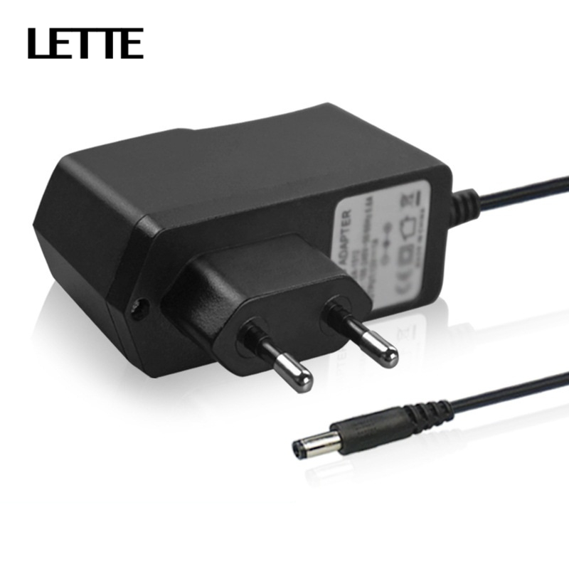 5V 2A DC Output Power Adapter EU US Plug 90-240V AC Input 100cm Cable Charger Supply For 3.5mmx1.35mm Jack USB HUB Card Reader