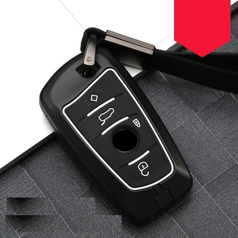 cheapest Carbon fiber Alloy Silicone Key Case Cover For BMW 520 525 f30 f10 F18 118i 320i 1 3 5 7Series X3 X4 M3 M4 M5 E34 E90 E60 E36