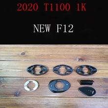 T1100 1k новая F12 карбоновая рама для дорожного велосипеда дисковая рама для велосипеда руль размер 42-59 см Сделано в Тайване корабль DPD XDB