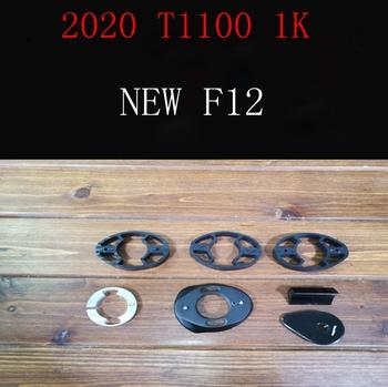 2020 T1100 1k nowy F12 węgla rama szosowa rower z dyskiem rowerów frameset kierownica rozmiar 42-59 cm wykonane w tajwanie statek DPD XDB tanie i dobre opinie CARBON 1060g Matowy taiwan F12 Rowery drogowe