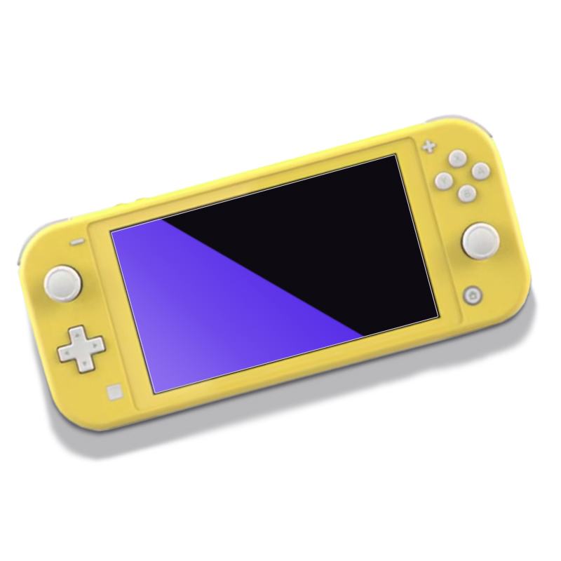 Anti Blue-ray Game Console Tempered Glass For Nintendo Switch Lite Purple Light Anti-explosion Screen Protector Protective Film