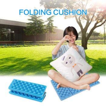 Soft Waterproof Dual Camping Hiking Picnic Portable Cushion Seat Pad Outdoor Folding Camping Moistureproof Cushion Mattress Pad image