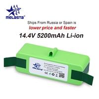 Melasta 14.4V 5.2Ah Li-Ion Batterij Voor Irobot Roomba 500 600 700 800 Serie 510 530 550 560 610 620 650 770 780 790 870 880 R3