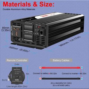 Image 5 - Power Inverter 2000W Pure Sine Wave