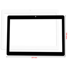 New For 10.1 inch DUODUOGO G10 3G tablet External capacitive Touch screen Digitizer Sensor Panel replacement Multitouch