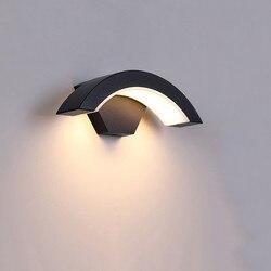 24 Вт LED наружная Водонепроницаемая дорожка передняя дверь сад крыльцо настенный светильник современный Крытый коридор настенное освещение...