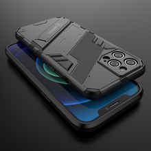 Armor For apple iphone 12 pro max case cover Shockproof Holder Phone Case PC Silicone For iphone12 Mini Cases coque funda luxury