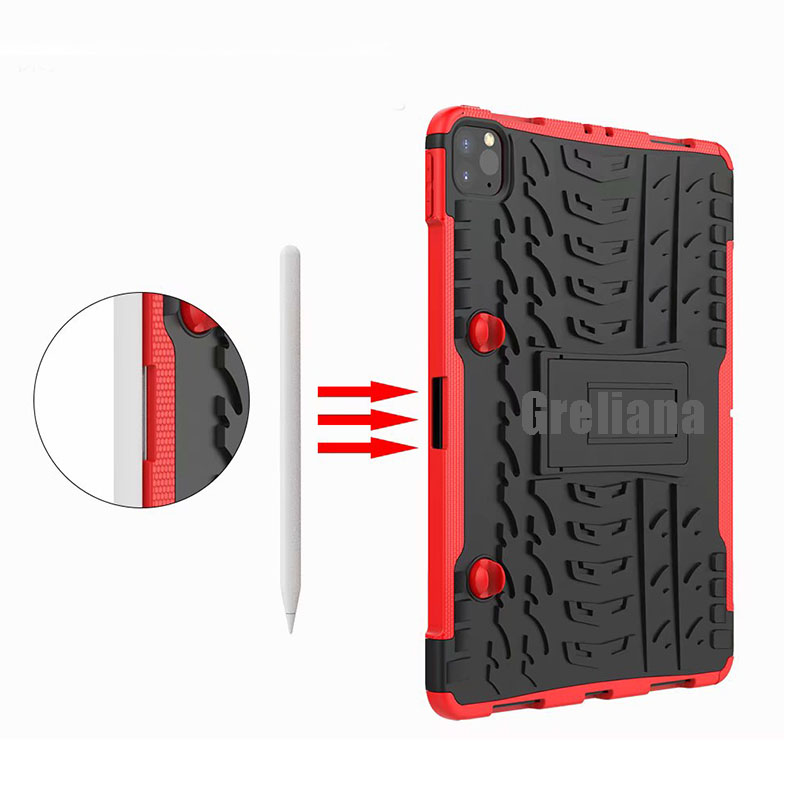 11 For Pro Armor Shockproof Cover 2020 iPad With Holder Case Flip Stand Case Pencil New