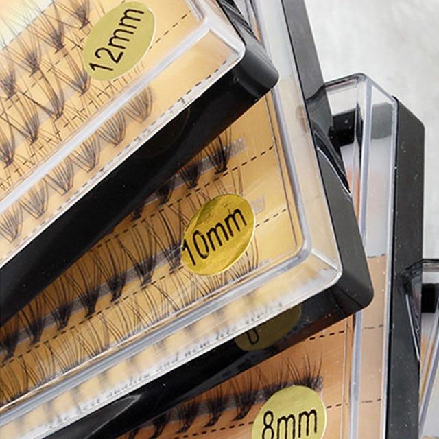 3 خطوط الحرير المنك الفردية جلدة مضيئة الطبيعة طويلة النمو رمش تمديد أدوات ماكياج الجمال