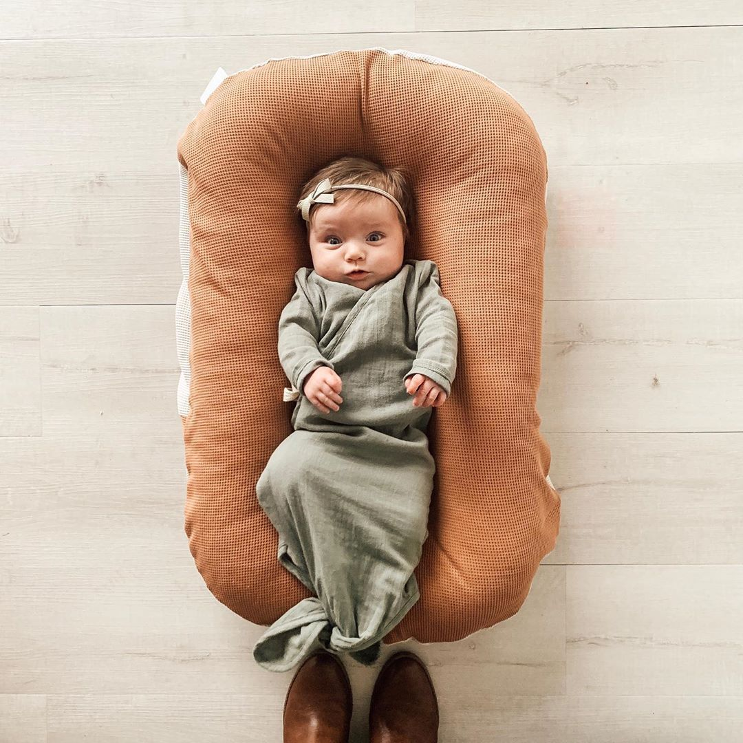 75*45cm Newborn Baby Nest Bed Portable Crib Travel Bed Toddle Baby Lounger For Infant Boys Girls Nursery Decor