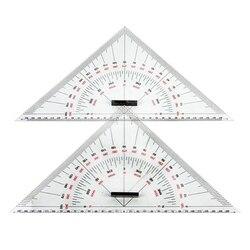 Rysunek wykresu trójkąt linijka do rysowania statku 300mm trójkąt na dużą skalę linijka do pomiaru odległości nauczanie inżynierii Des