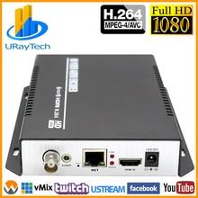 MPEG 4 H.264 /AVC 1080P 1080I HDMI + Stereo Audio + CVBS Video Encoder RTMP RTSP IP Stream Encoder IPTV Support NTSC PAL