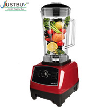 BPA ฟรี 2200W Heavy Duty Commercial Blender Professional เครื่องปั่นผสมอาหารญี่ปุ่นใบมีด JUICER ICE Smoothie เครื่อง(China)