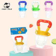 цена на 2019 Fresh Fruit Food Kids Nipple Feeding Safe Milk Feeder Baby Pacifier Bottles Teat Fresh Fruit Nibbler Safety baby products