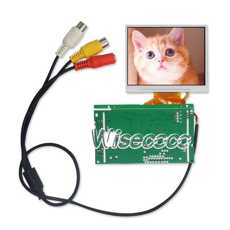 Wisecoco 3,5 pulgadas 320x240 TFT pantalla LCD LQ035NC111 Panel de pantalla con placa de control