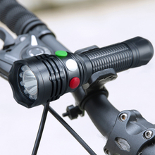 Q5 LED torch light tactical flashlight railroad lantern red white green yellow police magnet working light