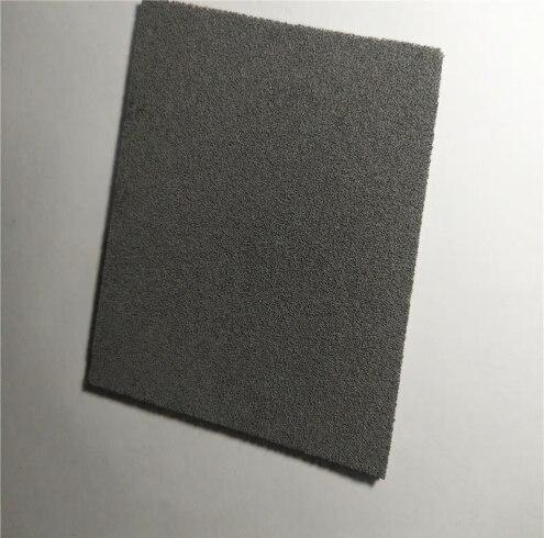 Haute pureté mousse poreuse fer mousse métal mousse fer matériel expérimental batterie matériel mousse fer feuille