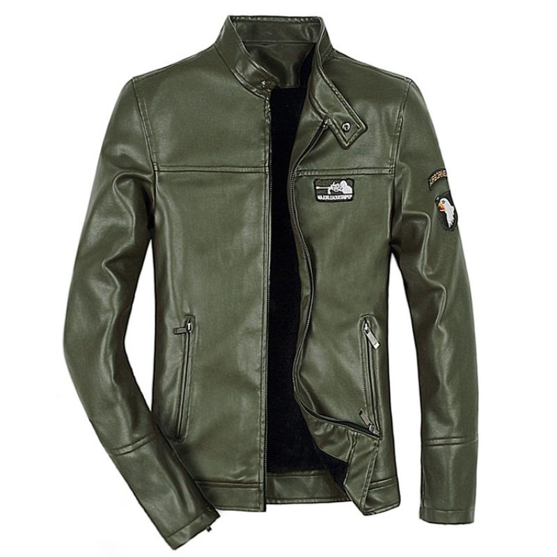 Coat Jackets Motorcycle Male Slim Punk Fashion Outerwear Blouse Pull-Tops Men Masculina