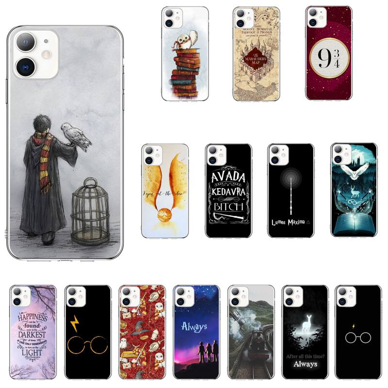 Eternally Hogwart Harries Potter Comic Design Phone Case For Iphone 11 12 Pro MAX 8 7 Plus SE 2020