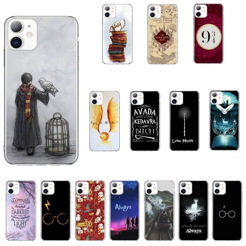 Eternally Hogwart Harries Potter Comic Design Phone Case For Iphone 11 12 Pro MAX 8 7 Plus SE 2020