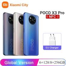 POCO X3 Pro 6GB 128GB / 8GB 256GB Xiaomi Poco Snapdragon 860 FHD + 120Hz dotDisplay 5160mAh 33W NFC Câmera IA quádr
