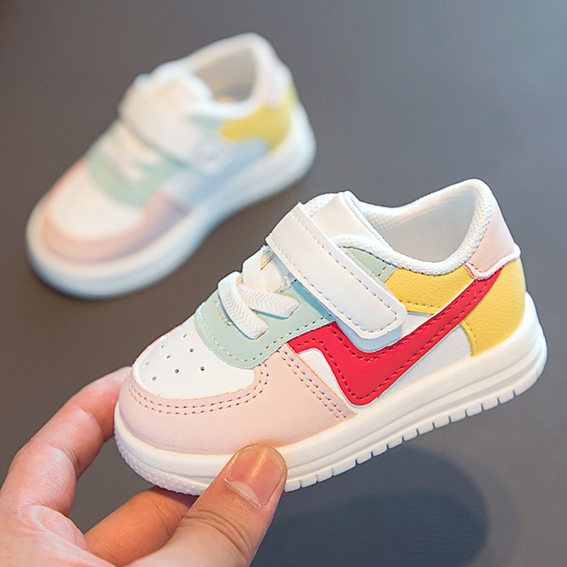 Baby Shoes Toddler Girls Boys Sports Shoes For Children Girls Baby Leather Flats Kids Sneakers Fashion Casual Infant Soft Shoes 2