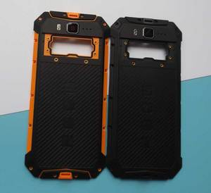 Image 2 - 新オリジナル鎧3鎧3ワットバッテリードアカバーバックハウジングulefone鎧3t 3WTスマート電話