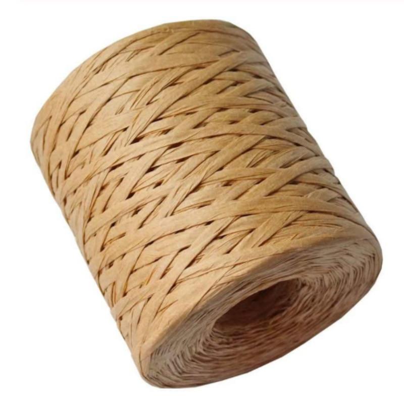 Рафия бумажная лента 200 метров украшение Свадебная веревка лента для натуральной бумаги шпагат подарок вечерние пасхальные упаковки Ремес...