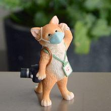 Повседневной коллекции дом Декор фигурки животных с милым кроликом;